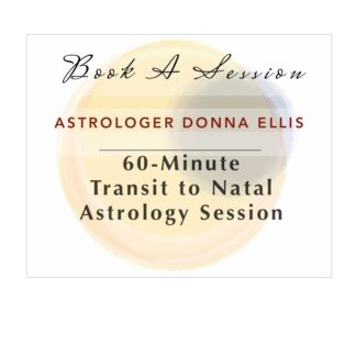 astrology session book 60-minute transit to natal astrologer donna ellis