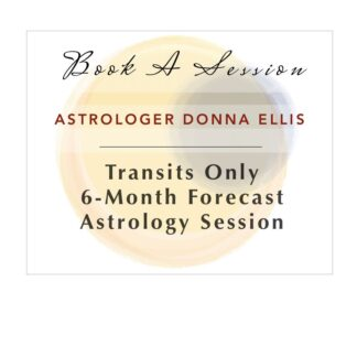 astrology session book 6-month transits astrologer donna ellis