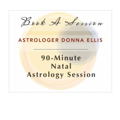 astrology session 90-minute natal transits astrologer donna ellis