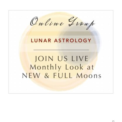 astrology group online lunar month transits astrologer donna ellis