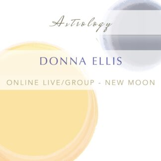 New Moon Astrology Live Group Online Tutorial Transit
