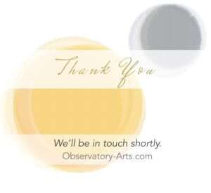 Thank You appointment purchase subscription Observatory Arts Donna Ellis Astrologer